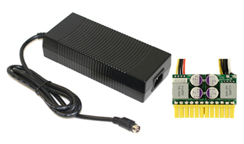 The ever popular PicoPSU + brick. Image from mini-box.com